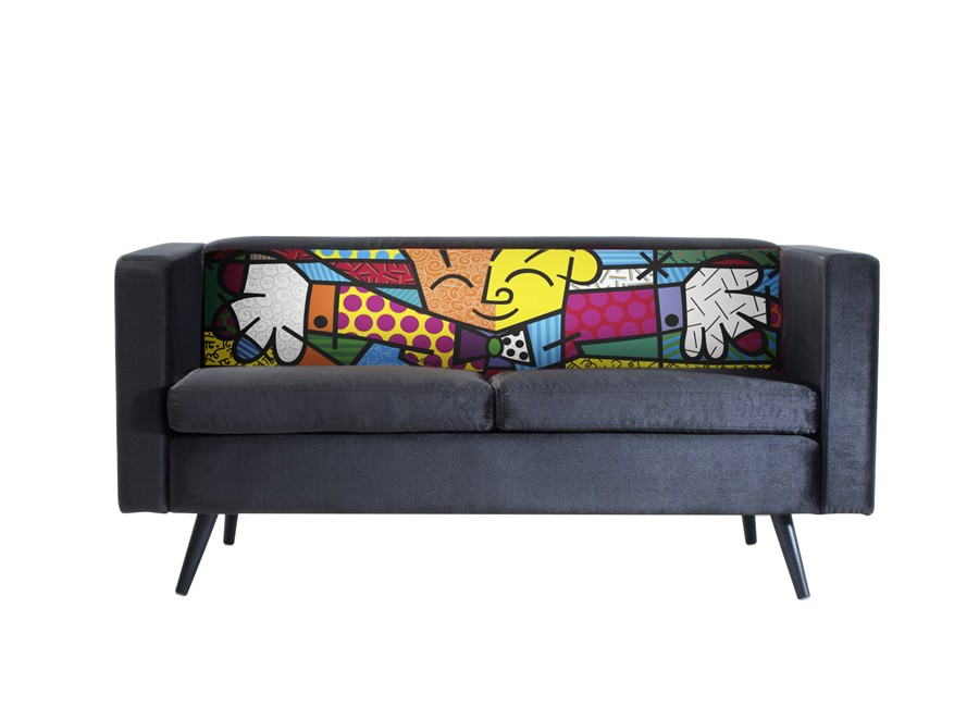 Sofá Lovely - Romero Britto